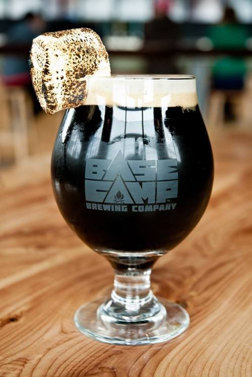 smores stout base camp brewery